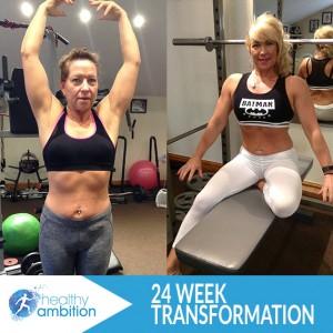 Annie 24 week transformation online personal training