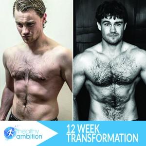 12 week body transformation with Scott laidler